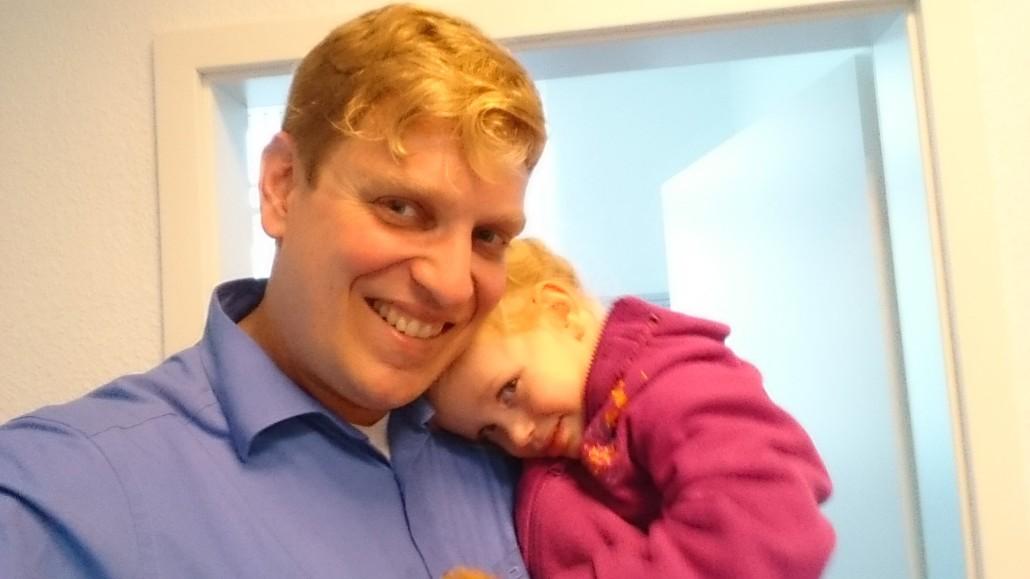 Dr. Robert Hausner mit Tochter (und Nachfolgerin:-) ) Luca-Marie